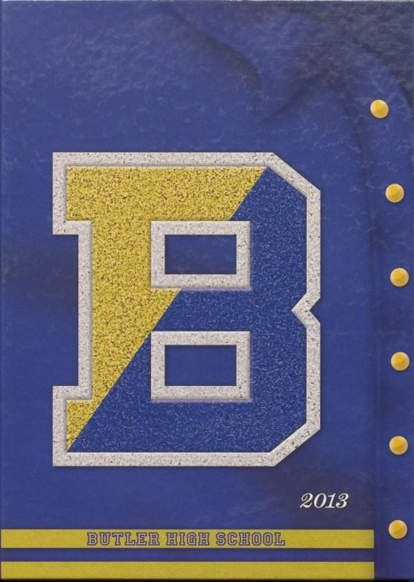 2013 Butler, N.J. High School Yearbook - Digital Downloa