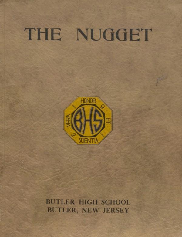 1921 Butler, N.J. High School Yearbook - Digital Download