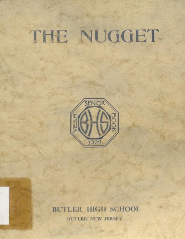 1922 Butler, N.J. High School Yearbook - Digital Download