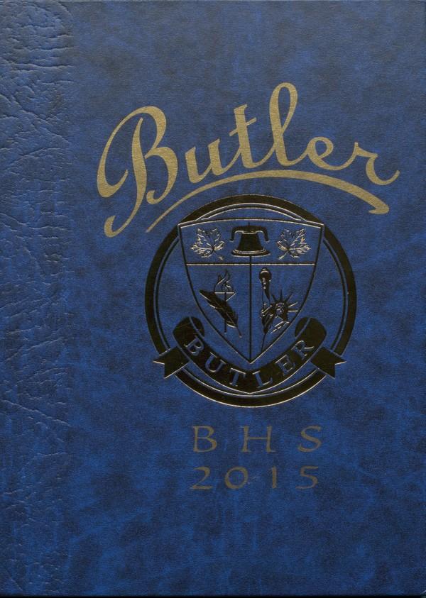 2015 Butler, N.J. High School Yearbook - Digital Download