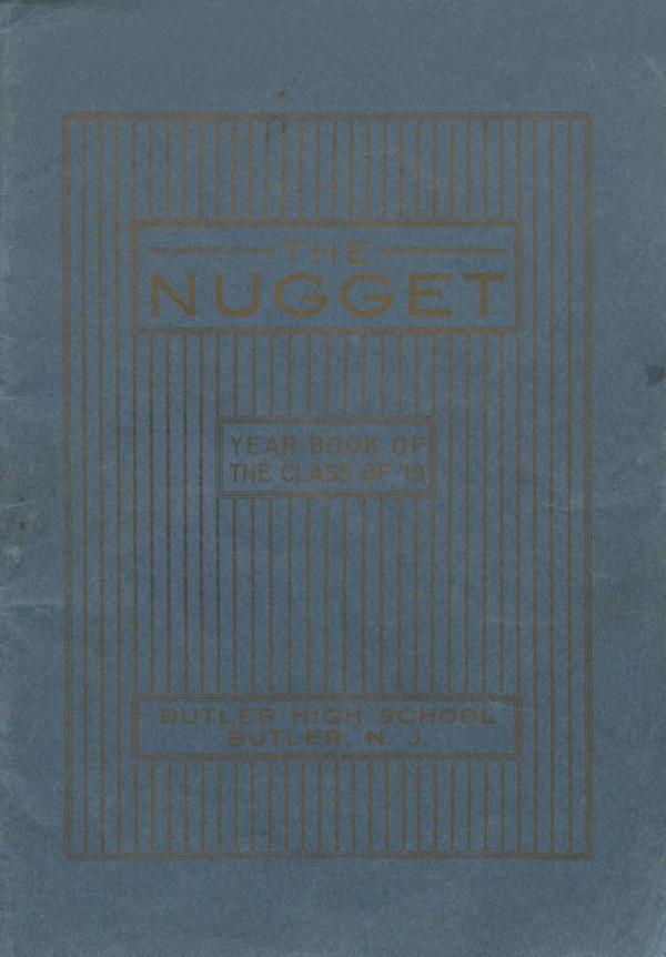 1919 Butler, N.J. High School Yearbook - Digital Download