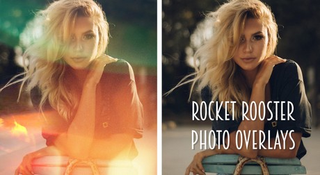 Rocket Rooster Photo Overlays