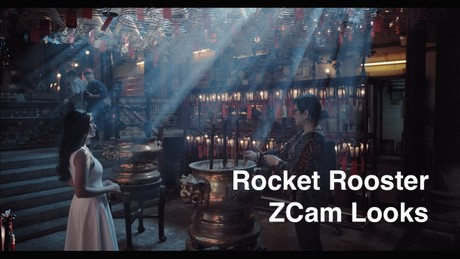 Rocket Rooster ZCam Looks.