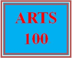ARTS 100 Week 3 The Performing Arts and Inspiration