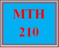 MTH 210 Week 1 MyMathLab Checkpoint