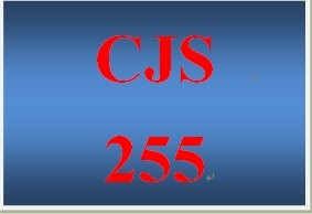 CJS 255 Week 4 Prisoners with Special Needs
