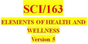 SCI 163 Week 5 Course Concepts Presentation