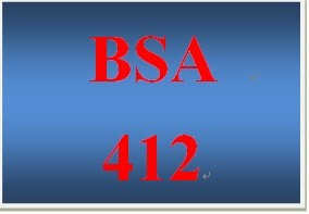 BSA 412 Week 5 Individual State Transition Diagram