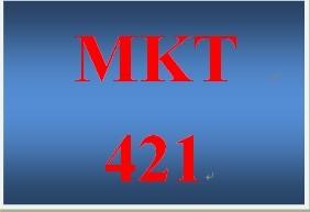 MKT 421 Week 5 Marketing Plan Final Presentation