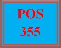 POS 355 Week 5 Individual: Cloud-Based Services