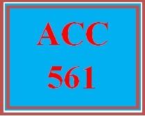 ACC 561 Week 2 Accounting Methods