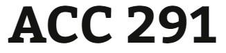 ACC 291 Week 2 Similar to Problem 9-8A