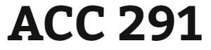 ACC 291 Week 1 Similar to Exercise 8-5