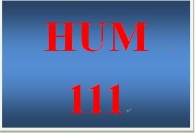 HUM 111 Week 2 Knowledge Check