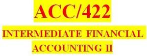 ACC 422 Week 5 Textbook Problems