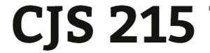 CJS 215 Week 2 DNA Evidence Presentation