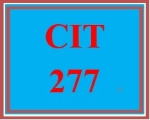 CIT 277 Week 1 Individual: Comparing Websites