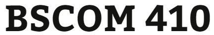 BSCOM 410 Week 2 Media Terminologies and Magazine Selection