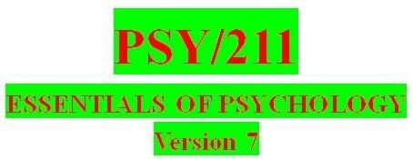 PSY 211 Week 1 Knowledge Check