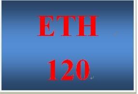 ETH 120 Week 1 Stereotypes and Prejudice Worksheet