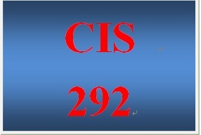 CIS 292 Week 4 Individual Operating System Portfolio – Network Worksheet