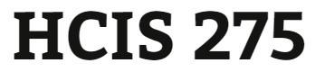 HCIS 275 Week 9 Professional Résumé and Cover Letter