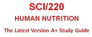 SCI220 Week 1 WileyPLUS® Week 1 Quiz