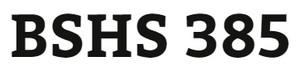 BSHS 385 Week 2 Interview Job Aid