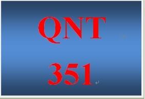 QNT 351 Week 1 participation Statistical Techniques in Business & Economics, Ch. 3