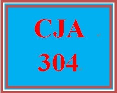 CJA 304 Week 5 Press Release and Reflection Summary