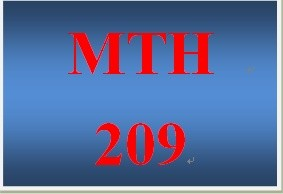 MTH 209 Week 2 participation Live Math Tutoring
