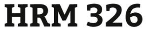 HRM 326 Week 4 Job Aid