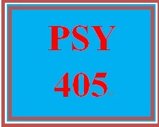 PSY 405 Week 5 Personality Theory Analysis