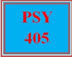PSY 405 Week 5 Personality Theory Analysis