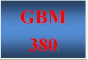 GBM 380 Week 4 Building Global Skills Exercise