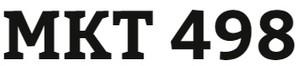 MKT 498 Week 2 Trends in Marketing Communications