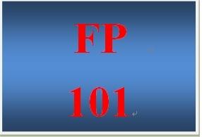 FP 101 Week 3 Credit History Worksheet