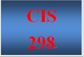 CIS 298 Week 3 Individual IT Operations