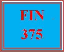 FIN 375 Week 2 Financial Break-Even Analysis