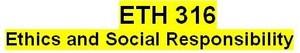 ETH 316 Week 2 Team Assignment Community Profile Presentation