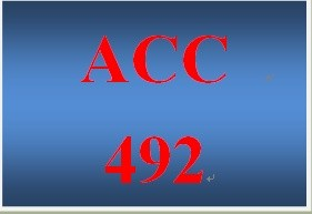 ACC 492 Week 5 Auditor's Legal Liability in an Audit (LT Discussion Assignment)
