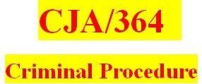 CJA 364 Week 3 Team Paper - Search and Seizure Paper