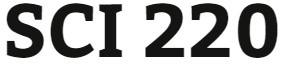 SCI 220 Week 1 Quiz in WileyPLUS®