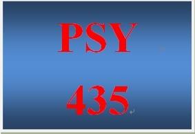 PSY 435 Week 1 IndustrialOrganizational Psychology Worksheet