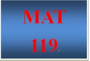 MAT 219 Week 5 participation Quadratic Equations