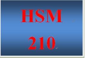 HSM 210 Week 6 Prevention