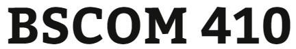 BSCOM 410 Week 4 Media Effects Case Study