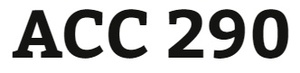 ACC 290 Week 3 - Real World