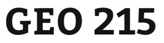 GEO 215 Week 2 Population Movement