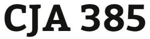 CJA 385 Week 5 Criminal Justice Policy in Practice Evaluation Proposal